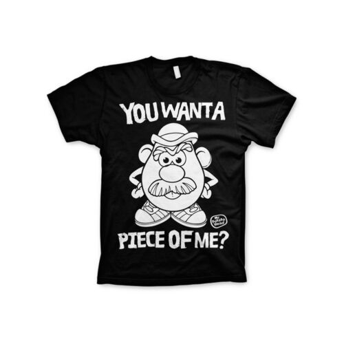 Officially Licensed Mr Potato Head You Want A Piece of Me S-XXL Men/'s T-Shirt
