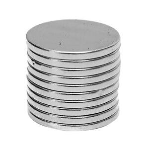 Bg-10Pcs-15x1-5mm-Rund-Scheibe-Selten-Erde-N50-Neodym-Selbermachen-Magneten