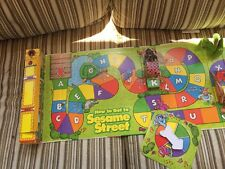 How To Get To Sesame Street(Pop-Up Game)Unfold & Play,Almost 3 feet long 1999 #2
