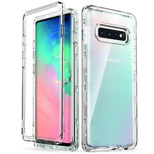 Transparent-Heavy-Duty-Shockproof-Rugged-Case-Cover-for-Samsung-Galaxy-S10-Plus