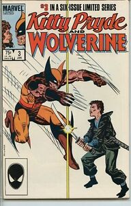 Kitty-Pryde-and-Wolverine-1984-series-3-very-fine-comic-book