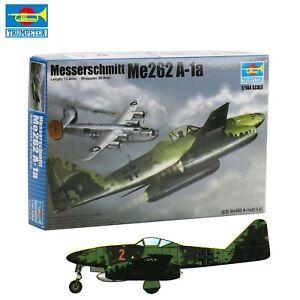 Germany-Messerschmitt-Me262-A-1a-Fighter-Plastic-Model-kit-Trumpeter-01319-1-144