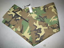US ARMY ECWCS WOODLAND CAMO GORETEX TROUSERS MEDIUM LONG 8415-01-228-1347