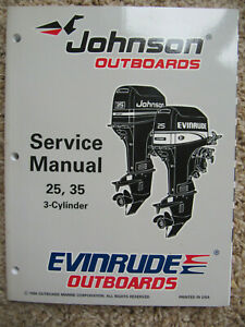 3.3 5 3 6 8 HP 1995 Evinrude Johnson Service Manual 2 4 503145