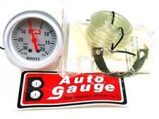 25 Autogauge Boost Meter Face Color Silver