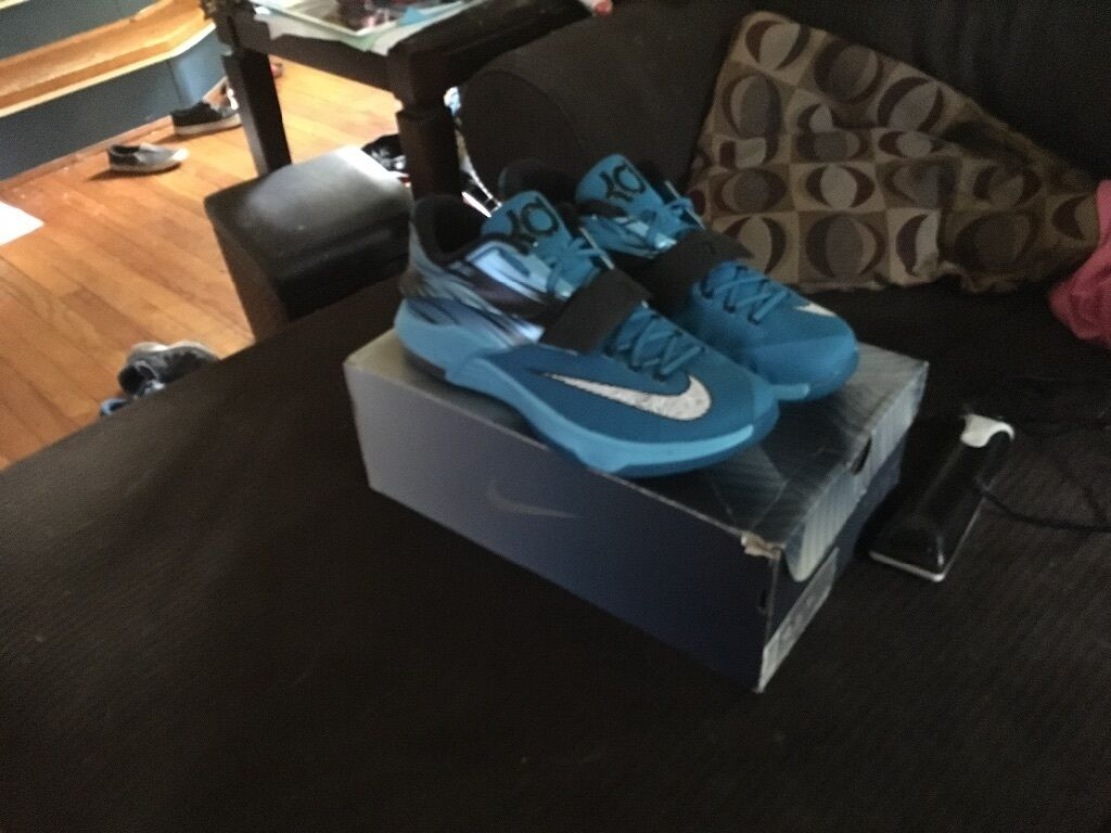 Nike kd 7 clearwaters size 12