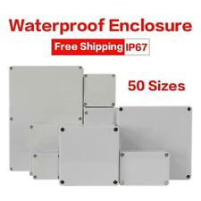 Waterproof Abs Electronic Project Box Enclosure Plastic Case Junction Outdoor