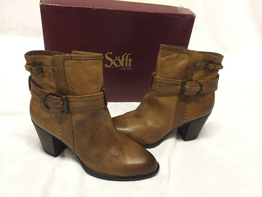 Soft  Women's Leather Boots Size 9