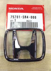 Details about Genuine Honda Rear Center (H) Emblem 75701-SR4-000 on
