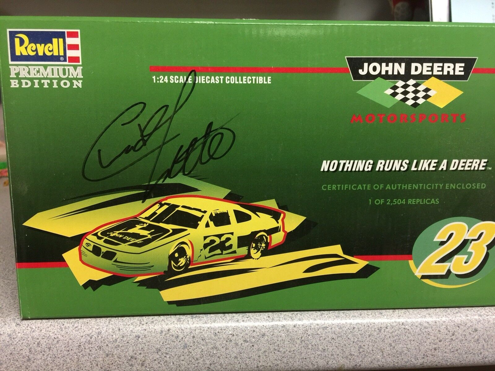 Revel Premium Edition Chad Little Signed Race Car