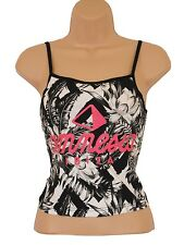 Amnesia Cropped Vest Shirt Top - Clubbing / Party WOMENS SIZE 12