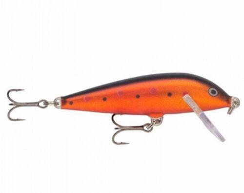 Rapala Original Floater F07 7cm 4g Señuelo Crankbait VMC Anzuelos triples
