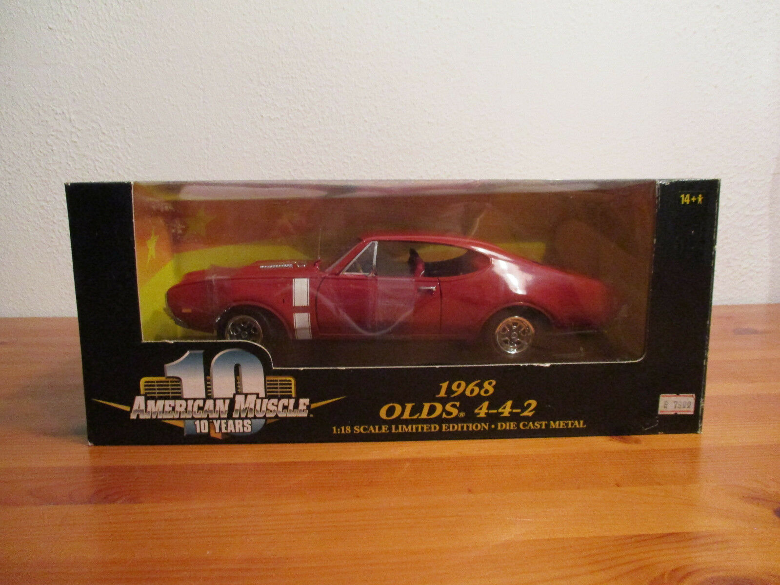 1:18 ERTL American Muscle 1968 Olds 4-4-2 NUOVO OVP