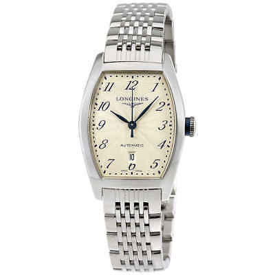 Longines Evidenza Automatic Silver Dial Ladies Watch L2.142.4.73.6