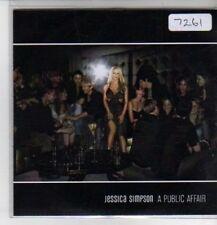 (CQ126) Jessica Simpson, A Public Affair - 2007 DJ CD