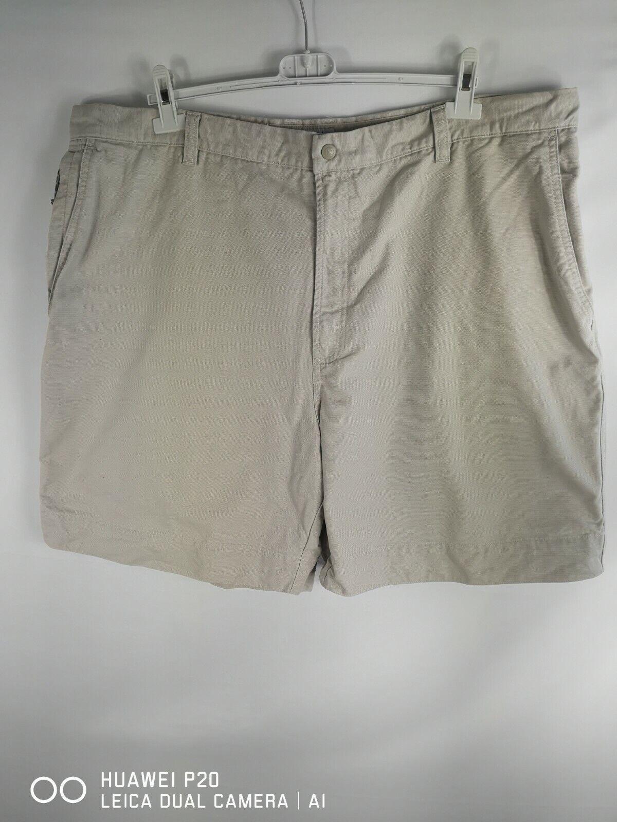 Columbia Pantalón Corto Chino Regular De Algodón para Hombre Marfil Talla 44