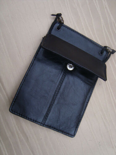 schwarz für anspruchvoller italbörse Kollektion *Leder Brustbeutel