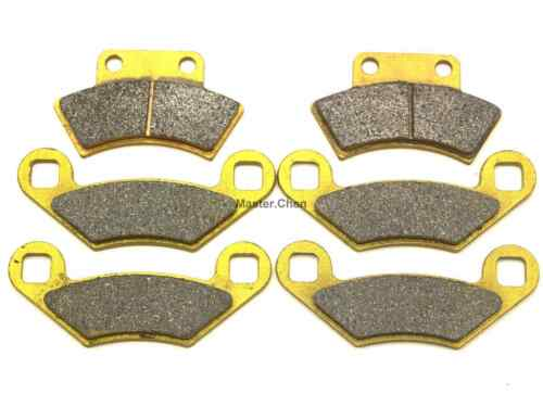 Front Rear Brake Pads For Polaris Xplorer 300 4x4 1996 1997 1998 1999 2000 SET