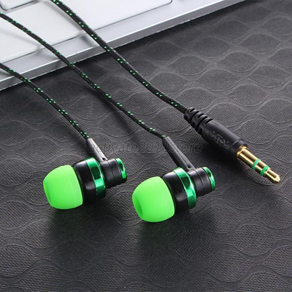 New Headset for iPhone In Ear Stereo Earbud Headphone Earphone 3.5mm Sport