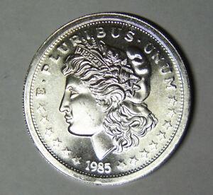 1985-Morgan-Silver-Dollar-Style-1-oz-999-Fine-Silver-Round-92118