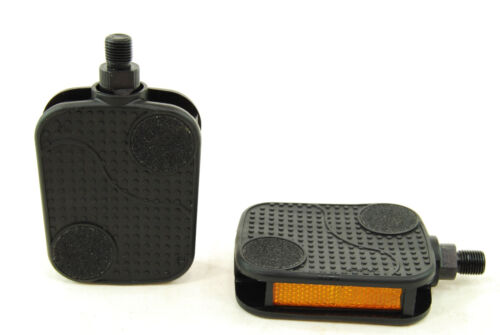 """Ultracycle Barefoot Comfort Cruiser 1//2/"""" Bike Bicycle Pedals Black"""
