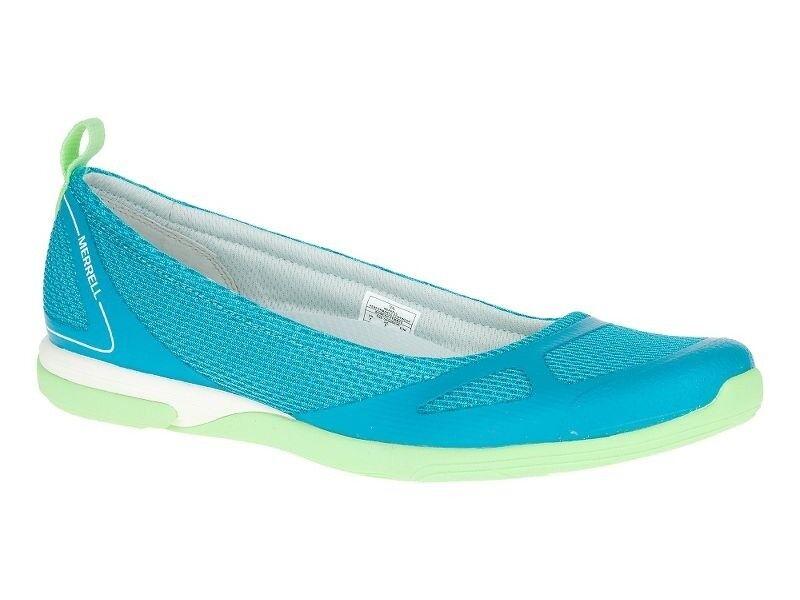 Merrell Women's Ceylon Sport Teal Ballet Casual Slip-On Shoes