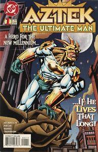 1996-AZTEK-THE-ULTIMATE-MAN-1-DC-COMICS-VF-NM