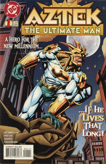 1996 AZTEK THE ULTIMATE MAN #1-5  ( SET OF 5 ISSUES ) DC COMICS  VF/NM