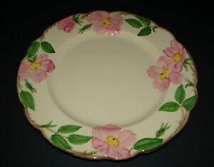 Franciscan-Pottery-Desert-Rose-Earthenware-Dinner-Plate-USA-Backstamp-10-5-8-034