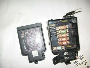 94-97 acura integra oem under hood fuse box with fuses diagram cover panel | ebay 90 93 integra fuse box