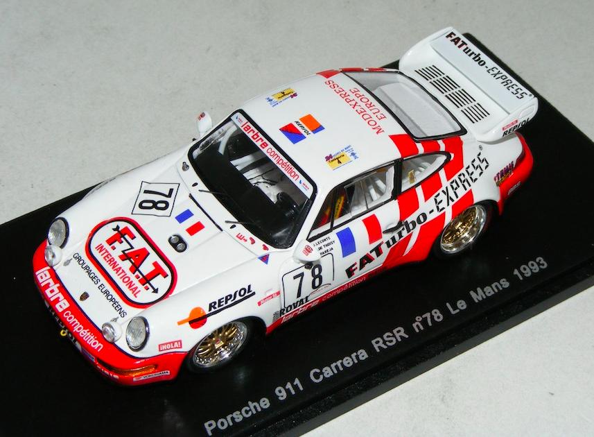 1 43 Spark Porsche 911 Carrera Carrera Carrera RSR Car H of LeMans S2078 6837b6