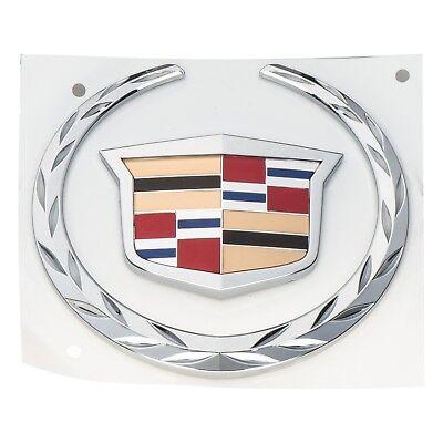 "2 1//2/"" ACROSS!! Cadillac /""WREATH /& CREST/"" Emblems 2 NEW ORIGINAL OEM CHROME!"