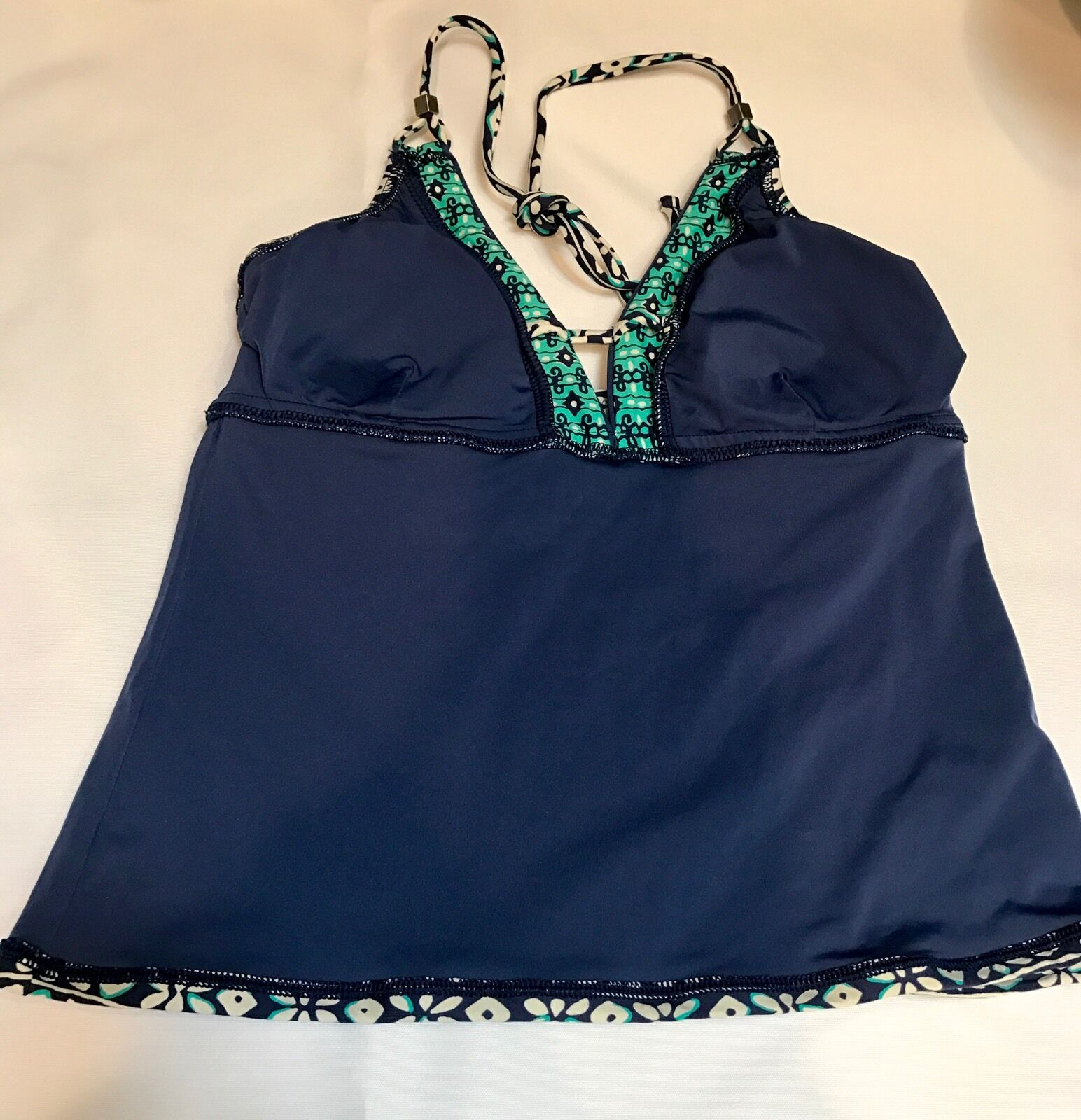 Nanette Lepore Padded Swimsuit Halter Tankini Top Size X-Small X-Small X-Small 0885d4