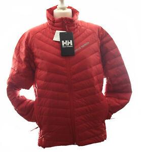 brand new b6fa6 80398 Details zu HELLY HANSEN Herren Daunenjacke VERGLAS, rot , Größe S, NEU