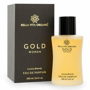 Bella Vita Organic Gold Luxury Blends Eau De Perfume For women 100ml