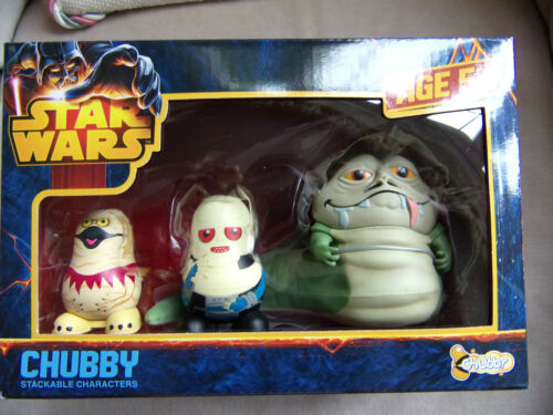 Star Wars CHUBBY CHUBBIES Stackable Characters Russian Dolls Together Plus