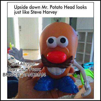 "Fridge Fun Refrigerator Magnet /""MR POTATO HEAD LOOKS LIKE STEVE HARVEY/"" Meme"
