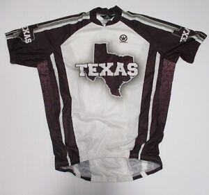 Texas-1-2-Zip-Cycling-Jersey-Mens-Medium-Large-XL-Canari-Burgundy-New-w-o-Tags