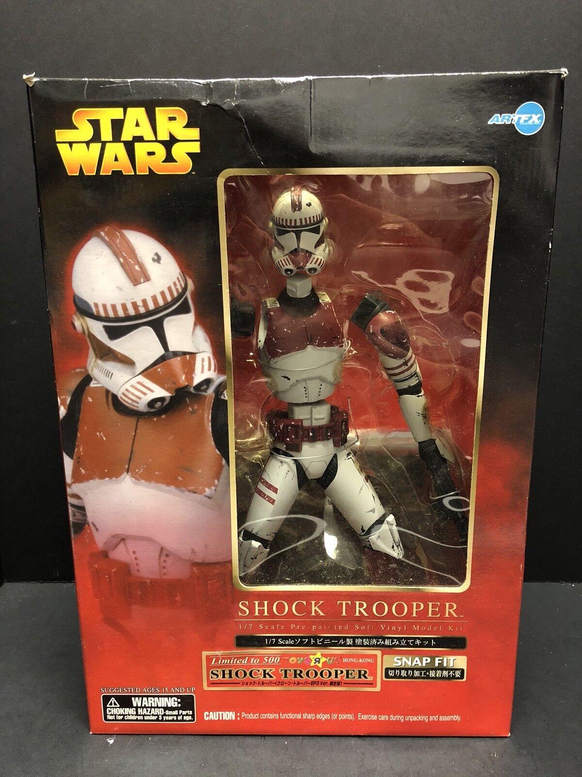 Kit modelo de vinilo de 1 7 Estrella Wars Shock Trooper Tru limitada a 500 ATL0277