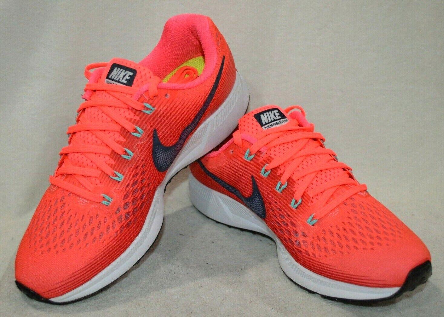 Nike  Air Zoom Pegasus 34 Hot Punch  T -blu Wouomo Running scarpe -Asst Dimensiones NWB  buona reputazione