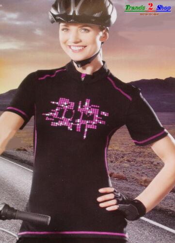 Damen Fahrradtrikot Radtrikot Radshirt Radlertrikot Fahrradshirt Radlershirt A