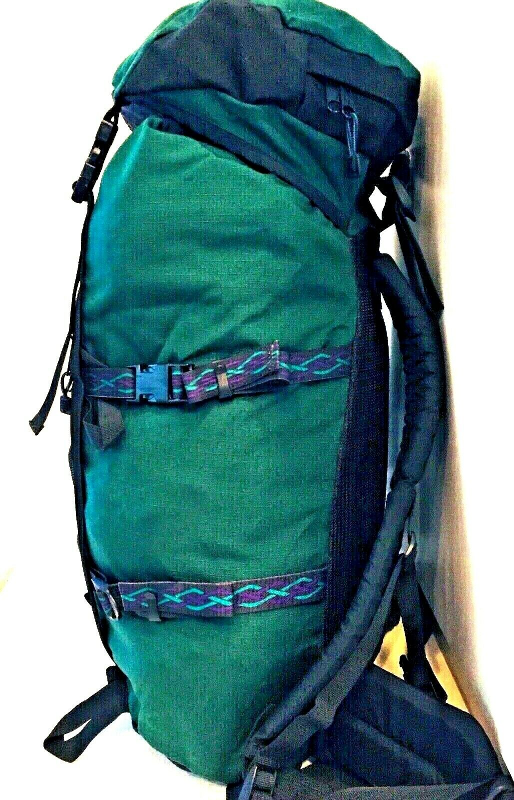 JanSport 45L Backpack Day Pack Hire Forest verde 3 Compartuominit Storage, gree