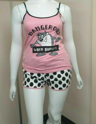 Disney Cami Vest Pjs Ladies Nightwear Girls Women/'s Pyjama Set Primark