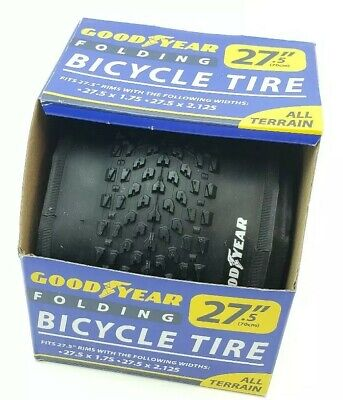 All Terrain GENUINE OFFICIAL Goodyear Folding Bicycle Tire 27.5 x 1.75