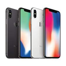 iPhone X | 64GB 256GB | SPACE GRAY SILVER AT T T-Mobile Sprint Verizon Unlocked