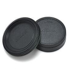 For Nikon AF AF-S Lens DSLR SLR Body Front + Rear Lens Camera Cap Cover U87