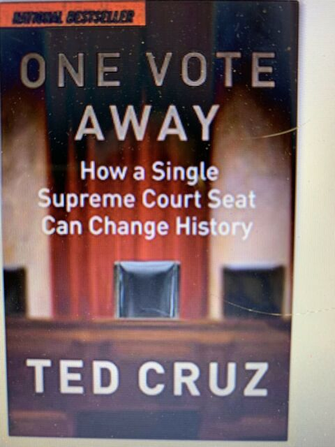 One Vote Away: How a Single Supreme Court Seat Can Change History... Hardcover