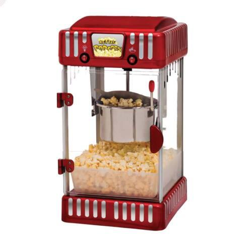 1 of 1 - Classic Jumbo Size 4.5L Professional Popcorn Maker Machine RRP $299