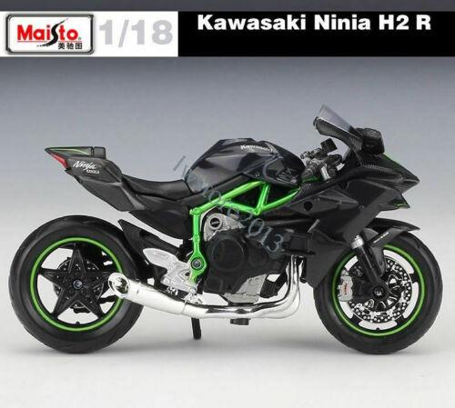 Food Diecast Kawasaki Ninja H2R Motorradmodell im Maßstab 1:18 Geburtstagsgesche