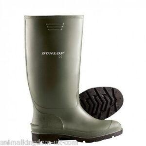 4da2fb9bb2d Image is loading Dunlop-Budget-Pricemastor-Wellies-Wellington-Boots -Green-All-